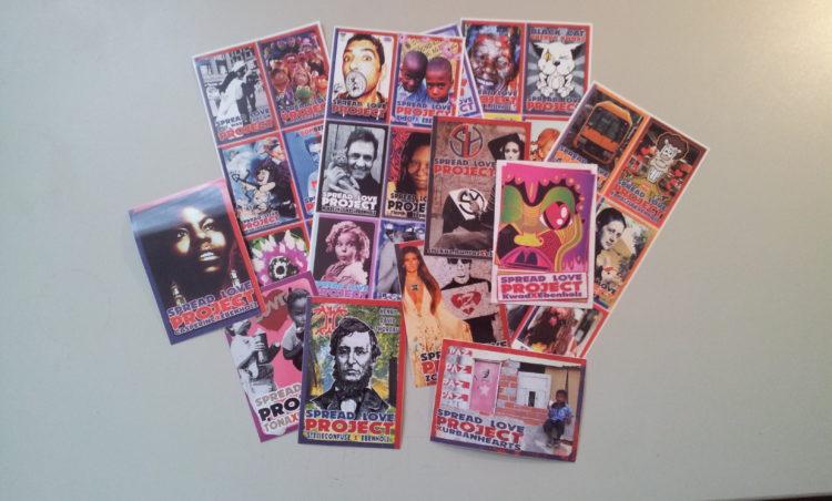 Spread Love Sticker Project - Die letzte Auflage