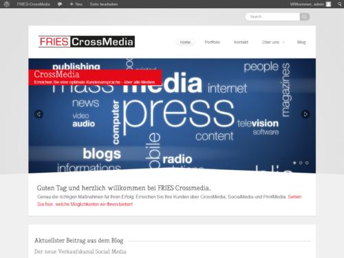 FRIES-CrossMedia - Startseite