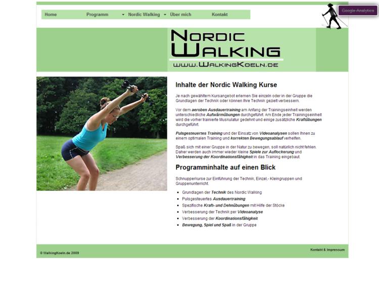 WalkingKoeln.de - Inhalte