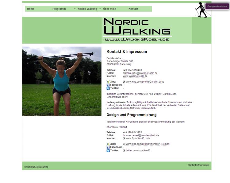 WalkingKoeln.de - Kontakt