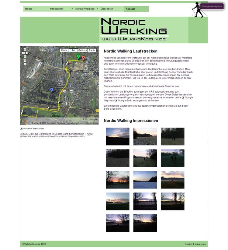 WalkingKoeln.de - Laufstrecken