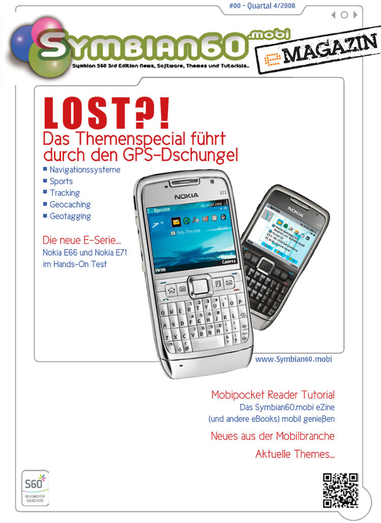Symbian60.mobi - eMagazine Cover
