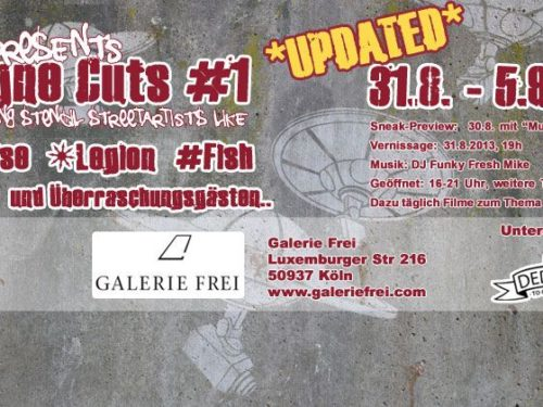 "Flyer zur ""Cologne Cuts Vol#1"""
