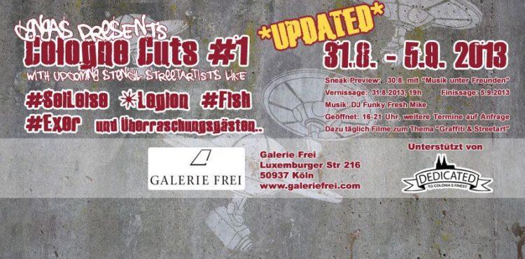 "Flyer zur ""Cologne Cuts Vol#1"""