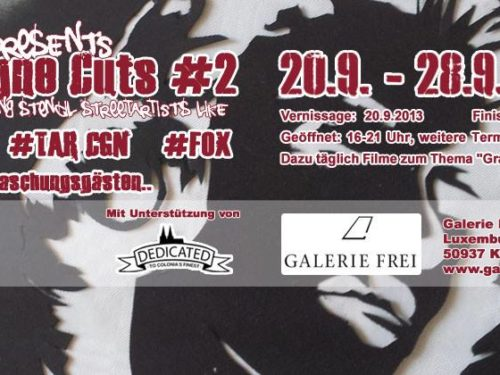 "Flyer zur ""Cologne Cuts Vol#2"""