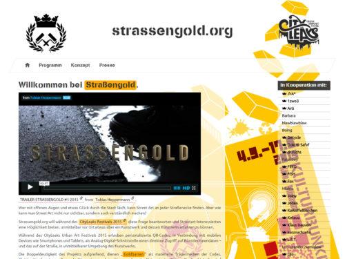 Strassengold.org - Artistseite
