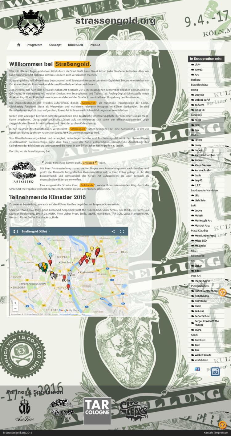 Strassengold.org - Startseite