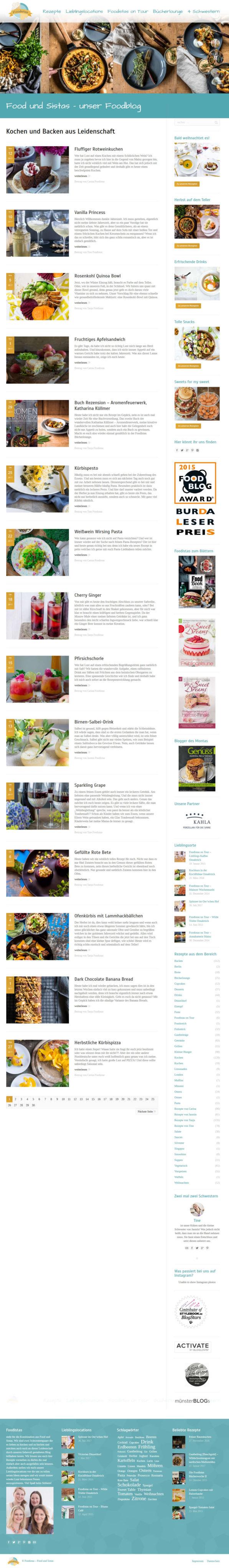Foodistas.de - Startseite